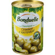 Оливки с косточкой Bonduelle 314 гр., ж/б