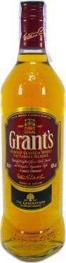 Виски Grant's Family Reserve шотландский купажированный 40%