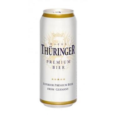 Пиво Thuringer Premium Bier светлое 4,3%
