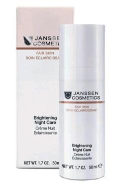 Крем Janssen Brightening Night Care Осветляющий ночной