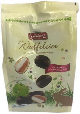 Конфеты Lambertz Вафельные яйца в шоколаде