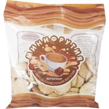 Печенье Минифрутия сахарное с ирисо-сливочным вкусом