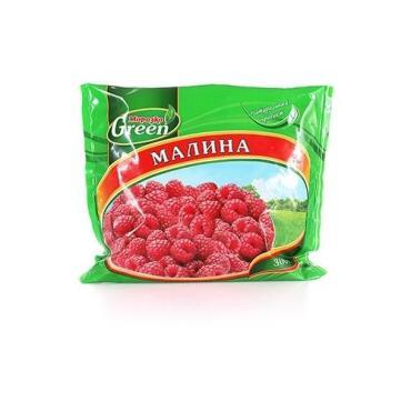 Малина Green замороженная, Морозко, 300 гр.