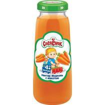 Нектар морковный с мякотью Спеленок, 200 мл., стекло