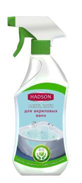 Специальное чистящее средство Hadson cпрей для чистки акриловых ванн ЭКО