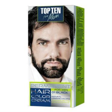 Крем-краска Rubella op Ten for men для мужчин, тон 01 black