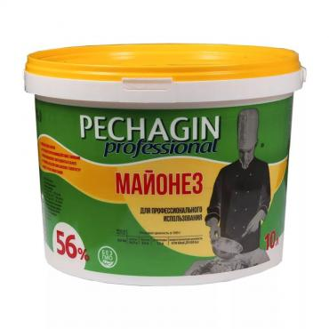 Майонез 56% Pechagin Professional 10 л., пластиковое ведро