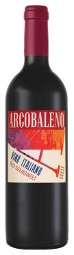 Вино Аркобалено, красное полусладкое Италия