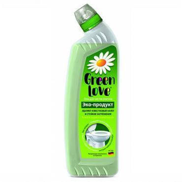 Гель для чистки унитазов Green Love