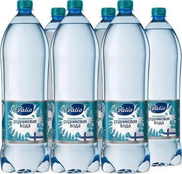 Вода родниковая, негазированная, Valio, 1,5 л., пластиковая бутылка
