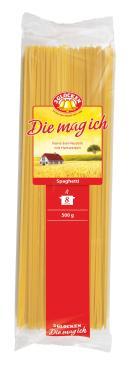 Макаронные изделия 3 Glocken Die mag ich Spaghetti