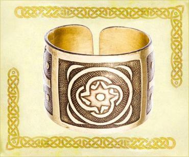 Кольцо Кудесы, 0006 Размер 17-23*15