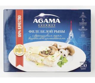 Филе белой рыбы AGAMA с соусом Бешамель 250гр