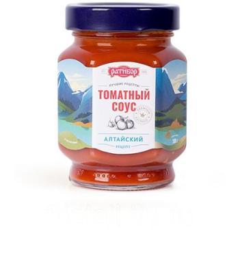 Соус томатный алтайский Ратибор, 300 гр., стекло
