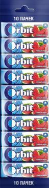 Жевательная резинка Orbit Сочный арбуз без сахара 10 шт.136 гр., обертка фольга/бумага