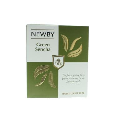 Чайзеленый Newby Зеленая Сенча Листовой 100 гр