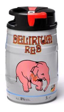Пиво Huyghe Delirium Red темное
