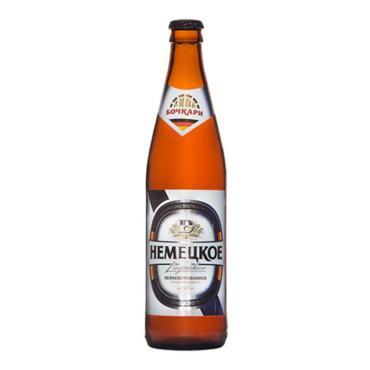 Пиво Бочкари Немецкое светлое нефильтрованное 12%