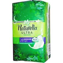 Гигиенические прокладки Naturella Camomile Ultra Night с впитывающими гелевыми гранулами, 28 шт.