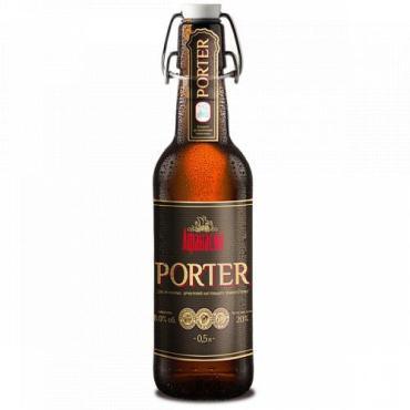 Пиво Афанасий Портер 8%, 500 мл., стекло