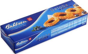 Печенье Bahlsen Deloba Blueberry 100 гр