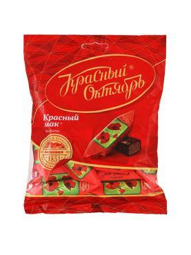 Конфеты Красный Октябрь Красный мак