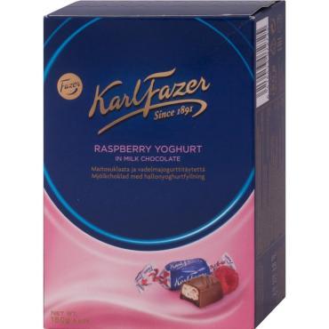 Конфеты Fazer Karl Fazer с начинкой из малинового йогурта
