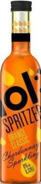 Напиток винный Spritzer lol Шардоне Orange Classic газированный полусладкий белый
