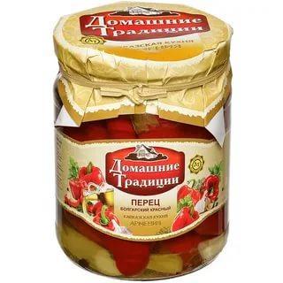 Перец Домашние традиции болгарский в масле