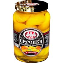 Персики Скатерть-Самобранка половинки в сиропе