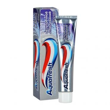 Зубная паста Aquafresh Ultimate White с фтором