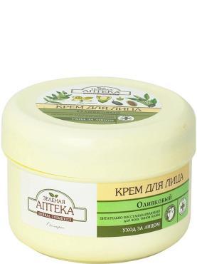 Крем для лица Зеленая Аптека Оливковый питательный восстанавливающий