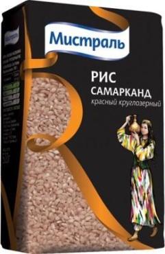 Рис Мистраль Самарканд круглозерный красный