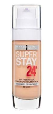 Тональный крем Maybelline SuperStay 24H Суперстойкий 30 Золотисто-бежевый