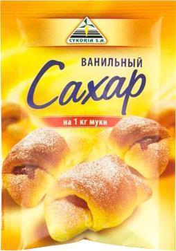 Сахар Cykoria S.A ванильный