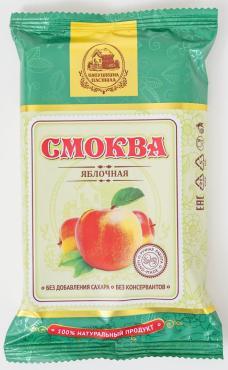 Смоква Бабушкина пастила яблочная,  Белевская ПМ, 50 гр., флоу-пак
