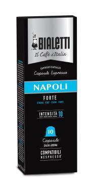 Кофе в капсулах Bialetti Napoli для кофемашин Nespresso 10 шт.