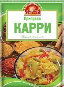 Приправа Русский аппетит Карри