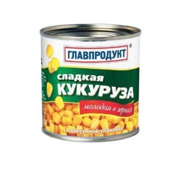 Кукуруза Главпродукт молодая в зернах сладкая