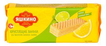 Вафли Яшкино Лимон-Лайм