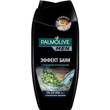 Гель для душа Palmolive Men Эффект бани 2в1 Глубокое Очищение