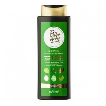 Шампунь Belita Pure Green Себонормализующий уход и объем против перхоти