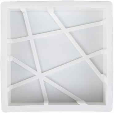 Форма для муссовых десертов и выпечки Доляна Попала в сети 19х5 см. белый