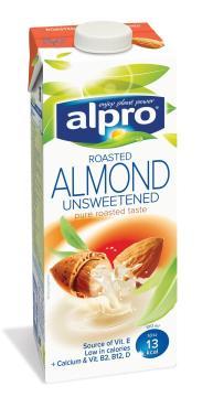 Напиток Alpro Almond  Миндальный с кальцием без сахара 1,1%