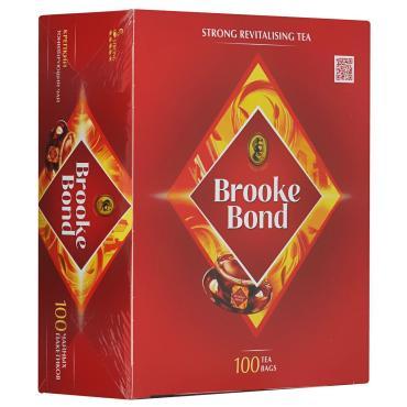 Чай черный 100 пакетиков Brooke Bond