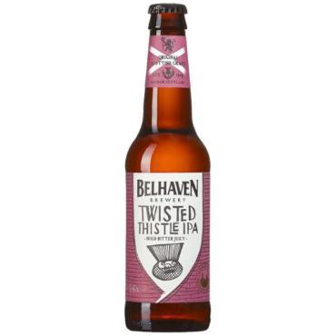 Пиво светлое Belhaven Twisted Thistle IPA, светлое (дрожжи)  5,3% 330 мл., стекло