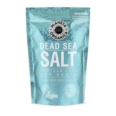 Морская соль для ванны Fresh Market Planeta Organica 400 гр., Дой-пак