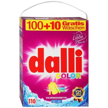 Стиральный порошок Dalli Color универсальный для цветного и белого белья без фосфатов