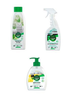 Набор Biorico Clean bio Чистая кухня с цитрусовым ароматом