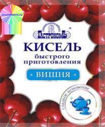 Кисель быстрого приготовления Вишня, Гастроном, 25 гр., Бумажная упаковка